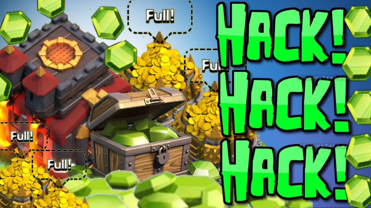 crack clash of clans unlimited gems