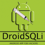 DroidSQLi Pro – Android App For Hackers