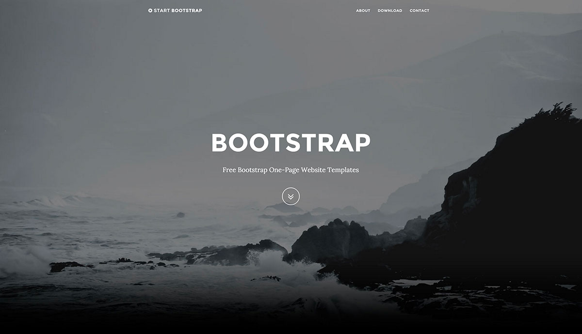 free-bootstrap-one-page-templates