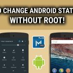 How To Customize (change or edit) Status Bar on Android Without Rooting