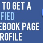 How to Verify your Facebook Page?