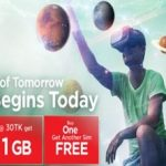 Robi & Airtel Offer 1GB 30 TK Robi-Airtel Free SIM and 0.5 Paisa Call Rate