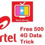 Airtel Free 500 MB 4G Data Offer