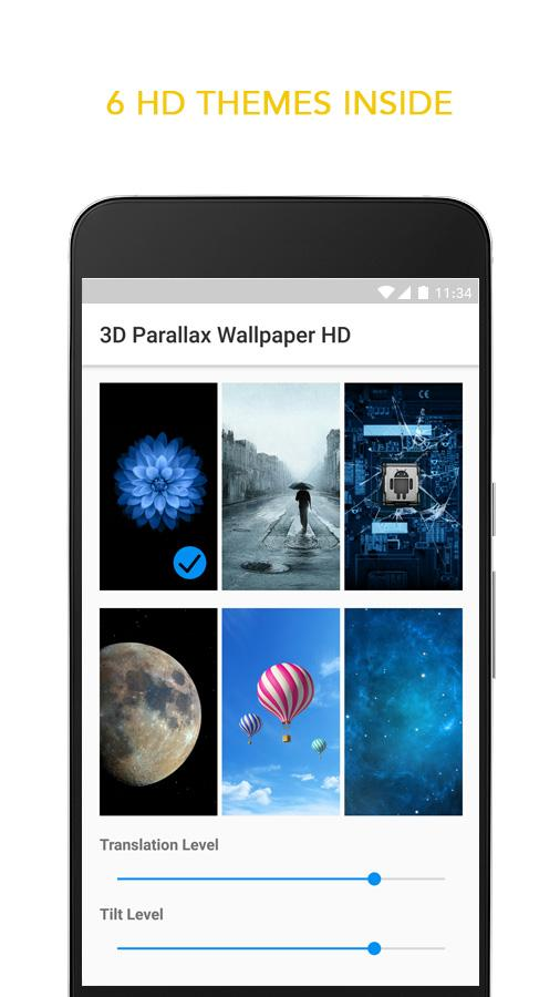 3D Parallax Live Wallpaper (1)