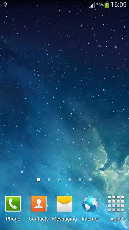 Galaxy Parallax Live Wallpaper (1)