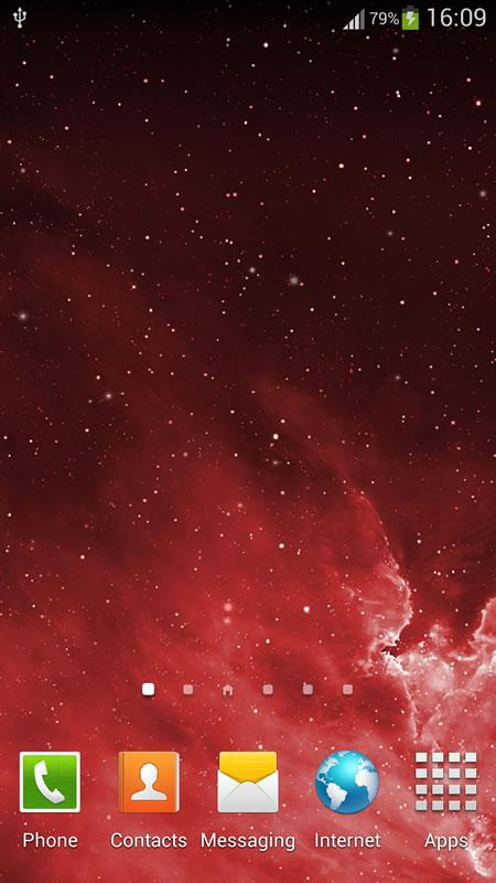 Galaxy Parallax Live Wallpaper (2)