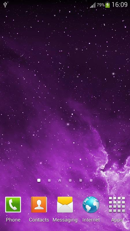 Galaxy Parallax Live Wallpaper (3)