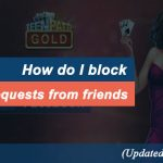 How do I block facebook game requests from friends?