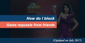 Block Facebook Game Requests